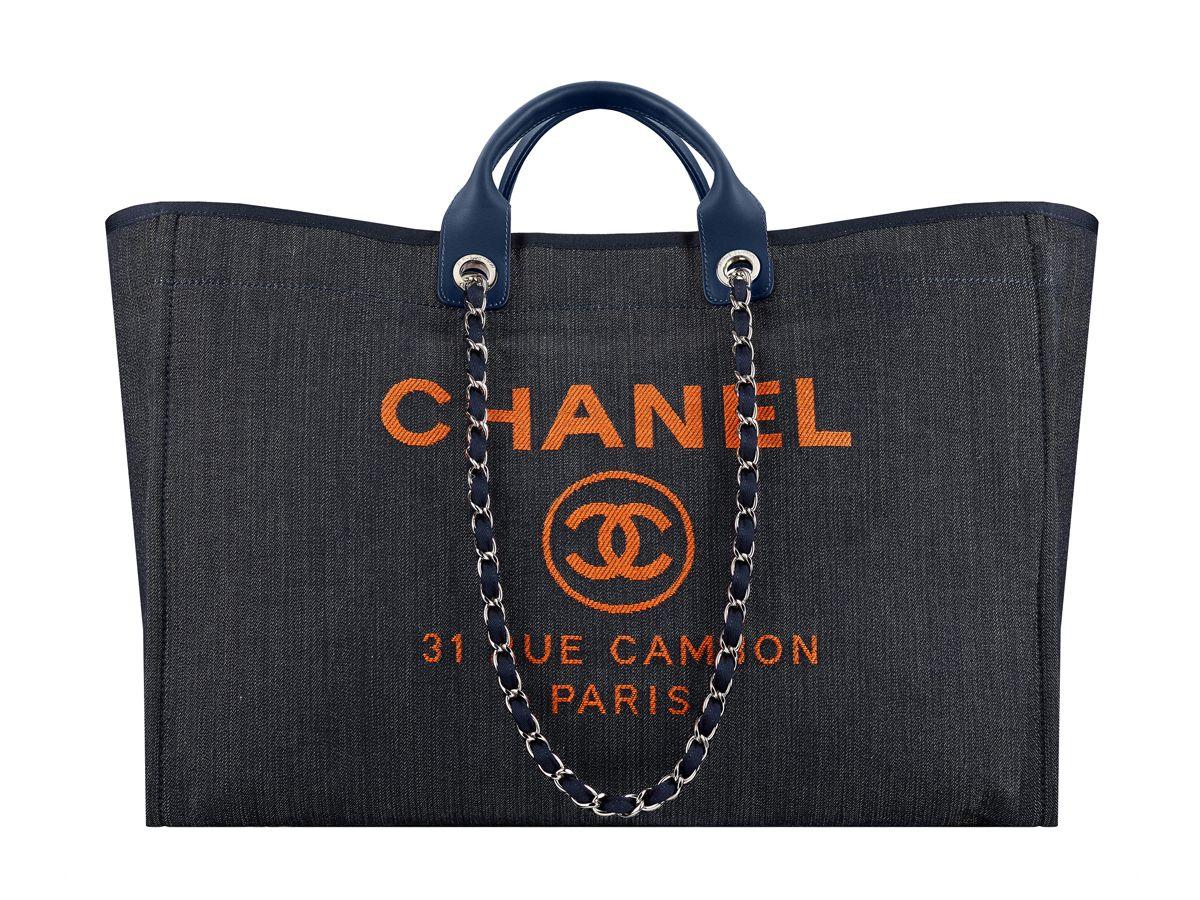 Chanel Grand Sac Shopper In Denim – BAGAHOLICBOY 42c7ef3c651