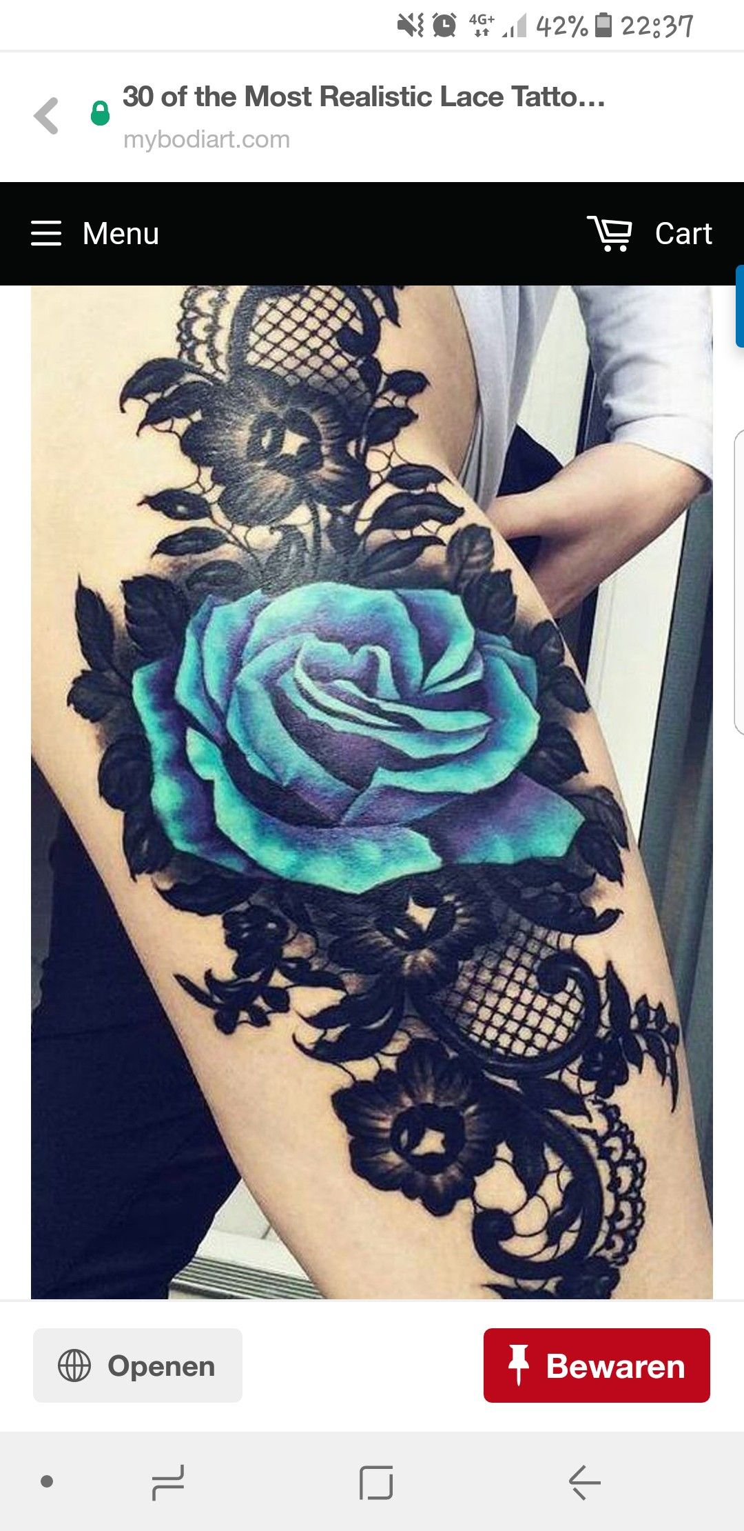 Pin by Opal on tattoo Thigh tattoos women, Flower thigh