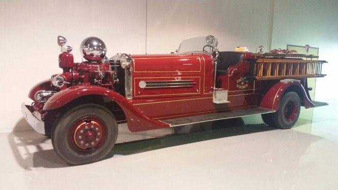 1936 Ahrens Fox firetruck. ...  these trucks are massive. .. and stylish! !