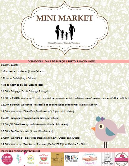 For girls: Mini Market- 1 de Março- Porto