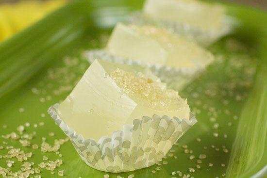 Lemon Drop Jelly Shots - wow these sound good
