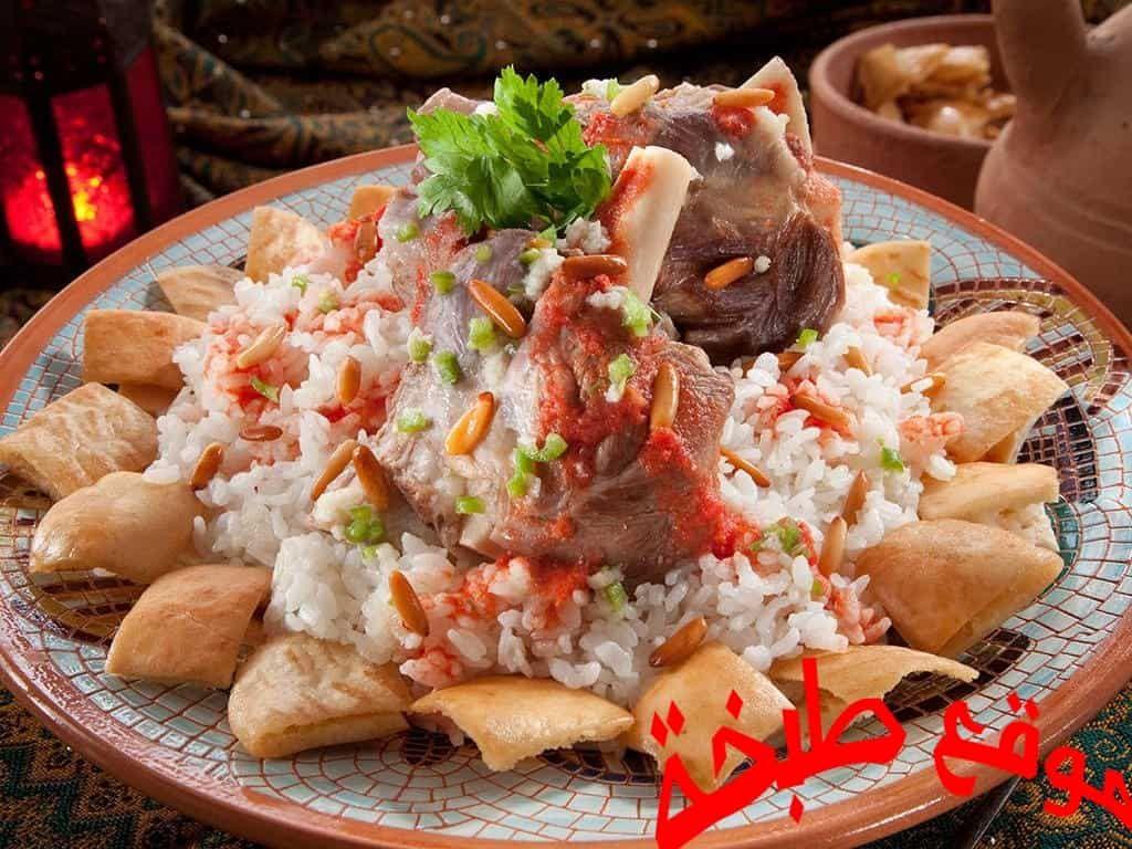 طريقة عمل الفتة المصرية للشيف الشربينى موقع طبخة Egyptian Food Food Cooking