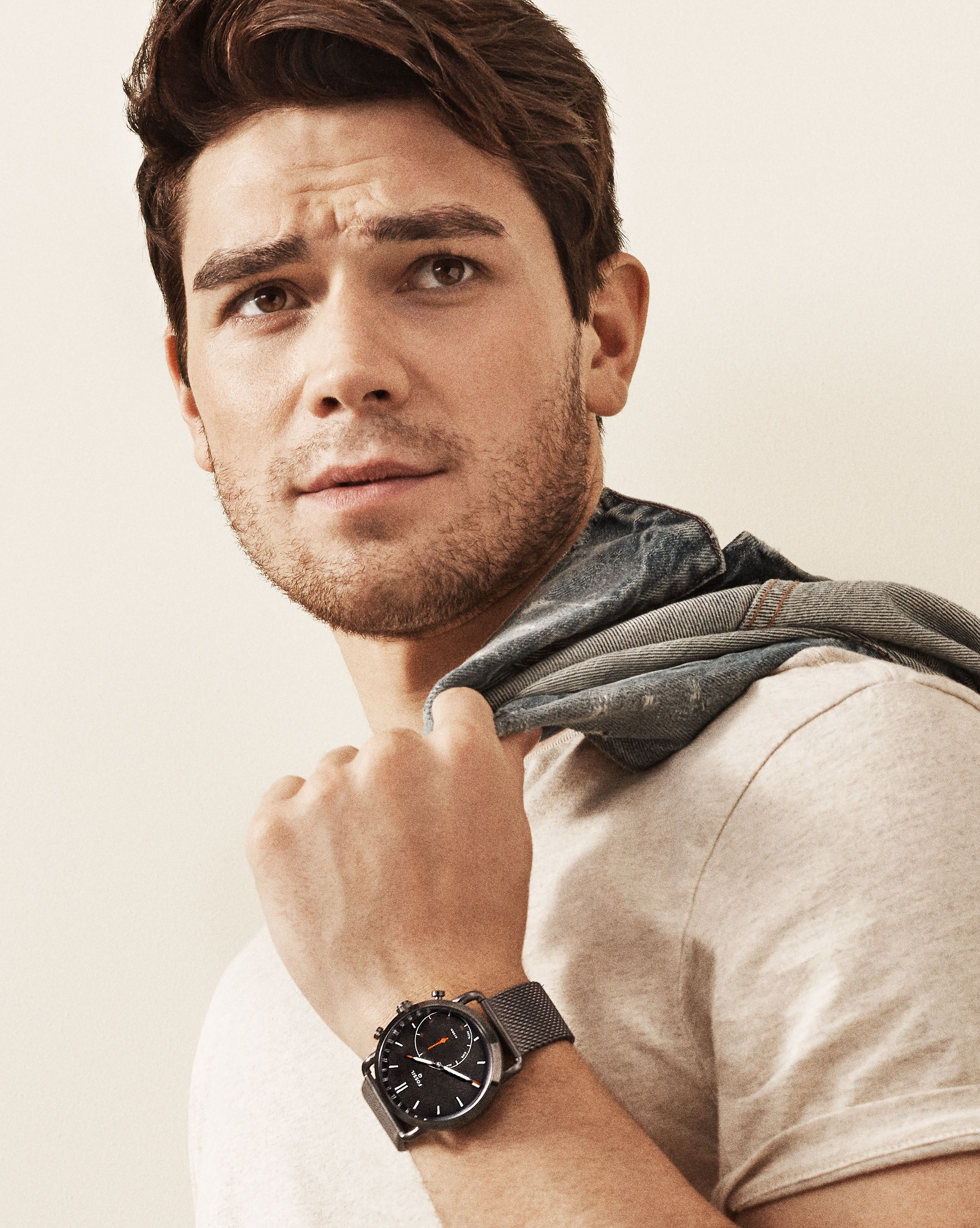 KJ Apa discusses his new celebrity ambassador role, what he looks for in wristwear and more