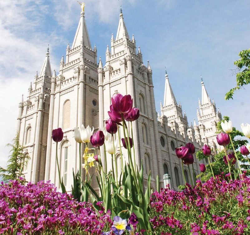 We just got back from a trip to our beautiful hometown of Salt Lake City,  Utah. And even though Adam and I grew up about 15 minutes from each other,  we never met until our first blind date. It's always so fun to go back to  Utah and see both of our families and all of our nieces, nephews, and