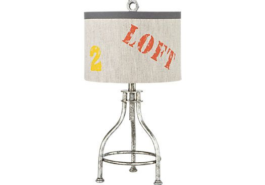 Industrial Loft Silver Lamp. $49.99. 24.5H. Find Affordable Lamps For Your  Home