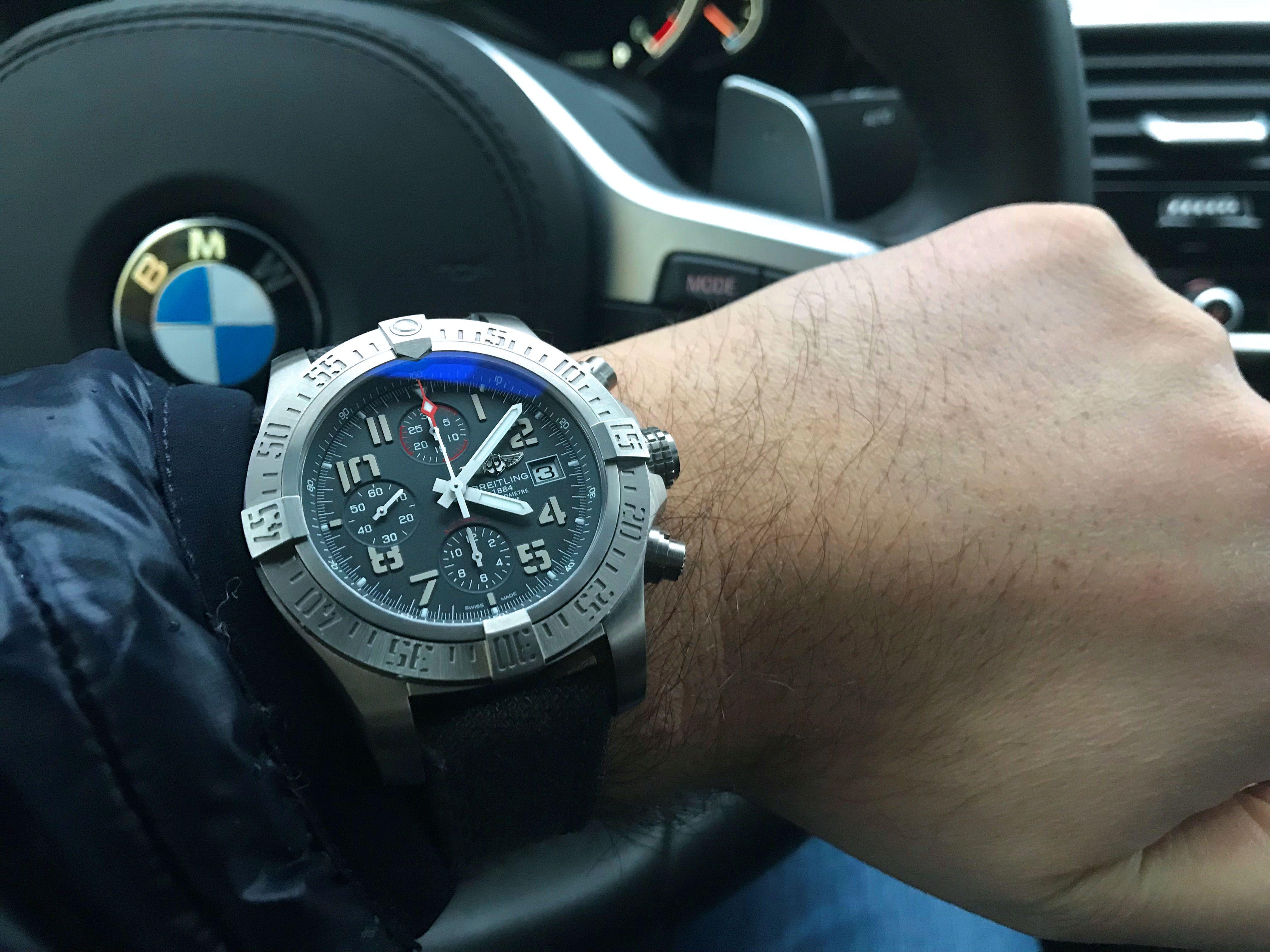 Breitling Avenger Bandit E M534 109W A20BASA 1