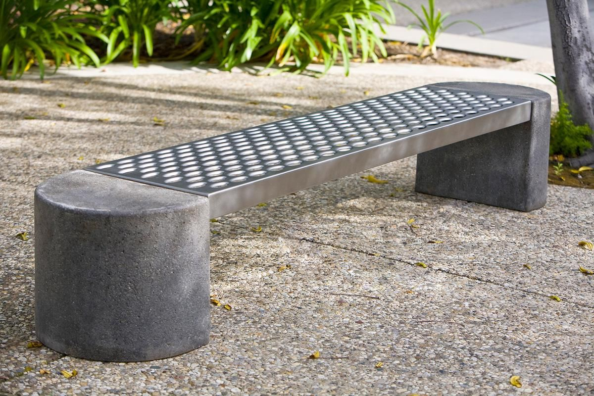 Foundation Bench Shown With - Concrete Ends And