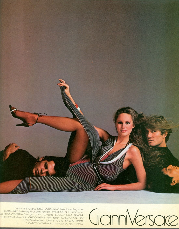 Gianni Versace ss1980 by Richard Avedon