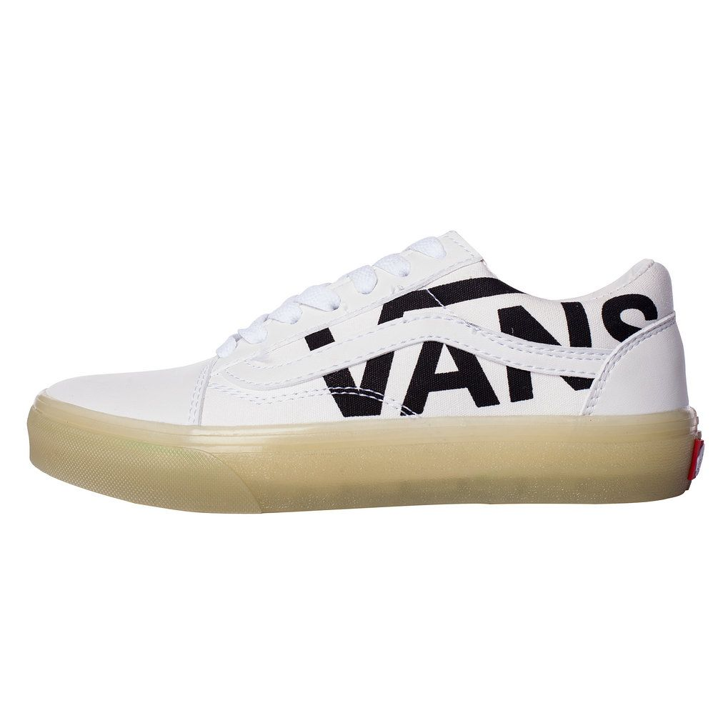 af59f0e9440c Vans Classic Old Skool Black White Word Low Top LY035 Vans For Sale  Vans