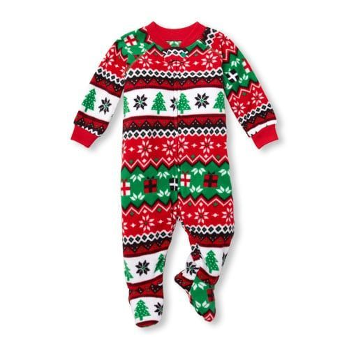 0b0232f84b Unisex Baby And Toddler Matching Family Long Sleeve Fairisle Print Footed  Blanket Sleeper  babyBlanketSleepers