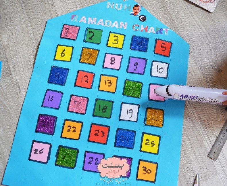 اصنعيه بنفسك مخطط رمضان لطفلك بسنت كرافتس Ecommerce Hosting Unix Chart