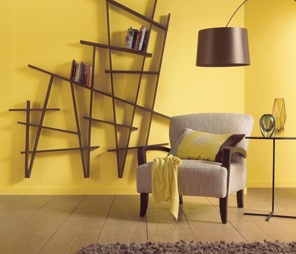 Decoración con color amarillo.