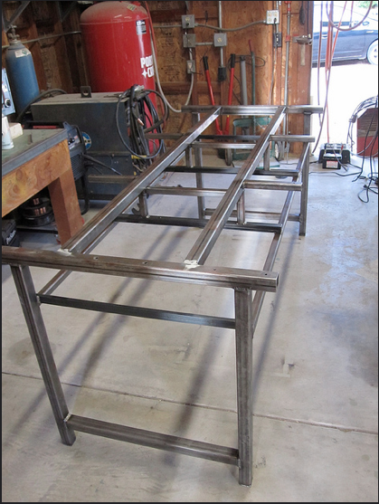 Workbench frame for six, Johnny Ninos