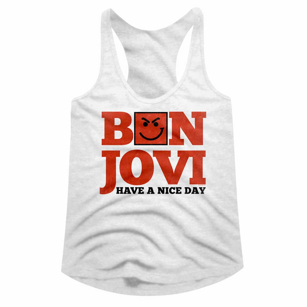 Details About Bon Jovi Have A Nice Day Album Womens Tank Top Rock