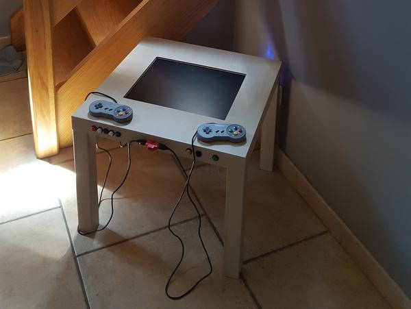 Ikea Jeux GamingBartop IkeaTable Retro De Et A5R3L4j