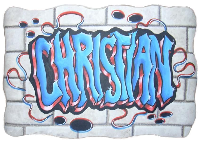 Christian graffiti graffiti name mural examples for Mural examples