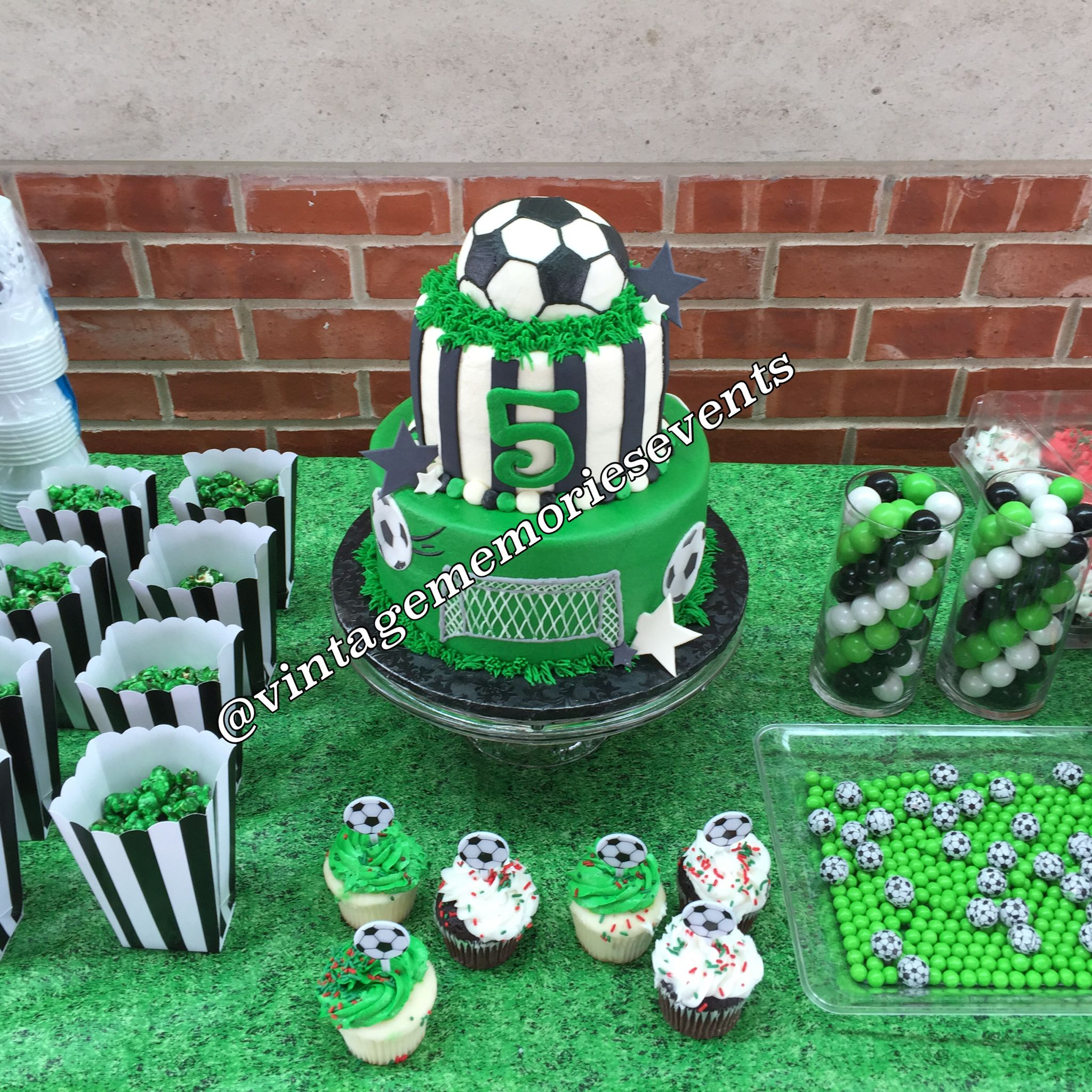 Soccer Themed Birthday Party In Houston Texas
