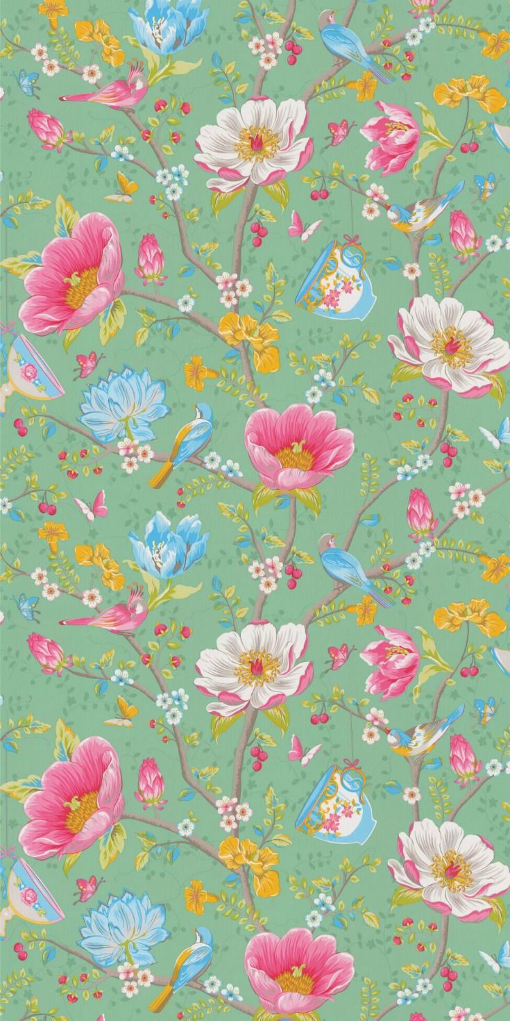 This wallpaper design is the beautiful Chinese Garden by ...