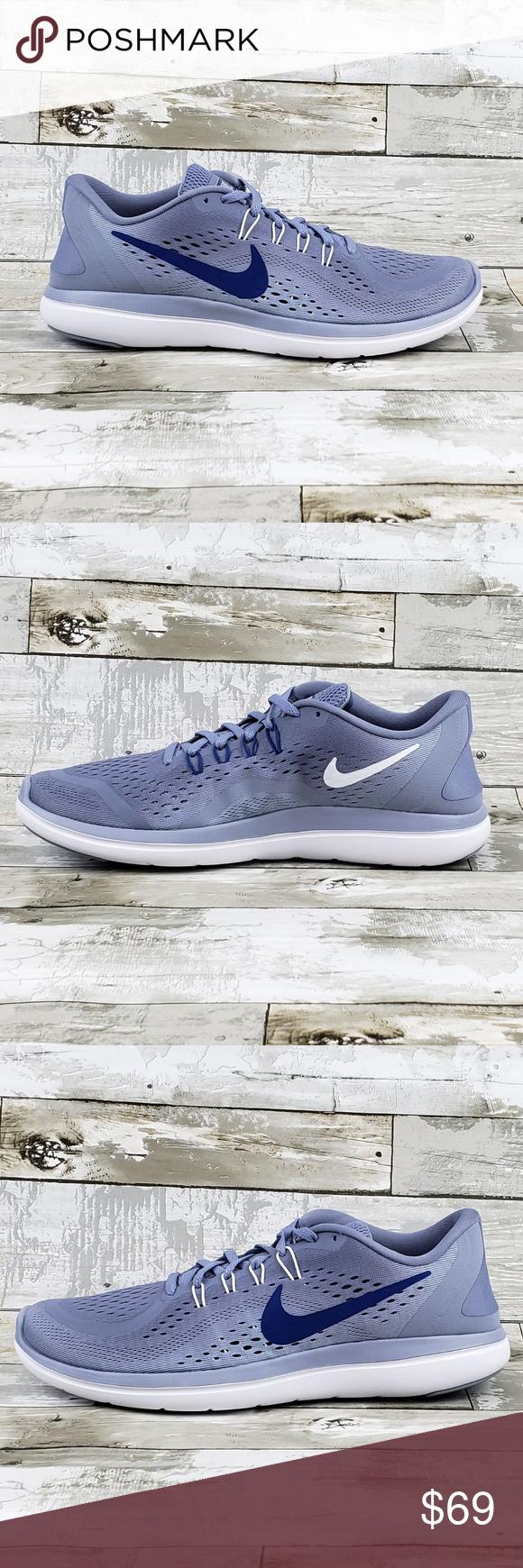 6a00b31e3431 Nike Flex 2017 RN Running Shoes Dark Sky Blue Nike Flex 2017 RN Running  Shoes Dark