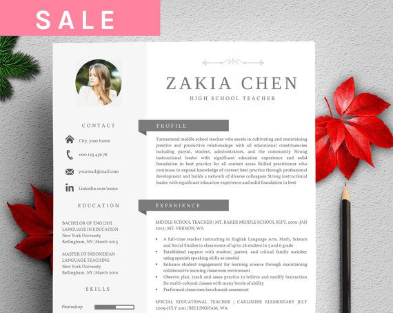 Profesional Creative Resume Template For Word Us By