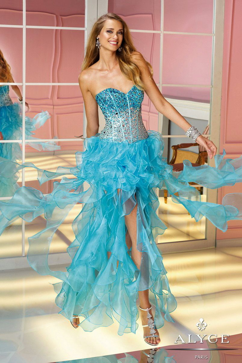 Prom DressesEvening Dresses by ALYCE PARIS6191Traffic Stopper! | MLR ...