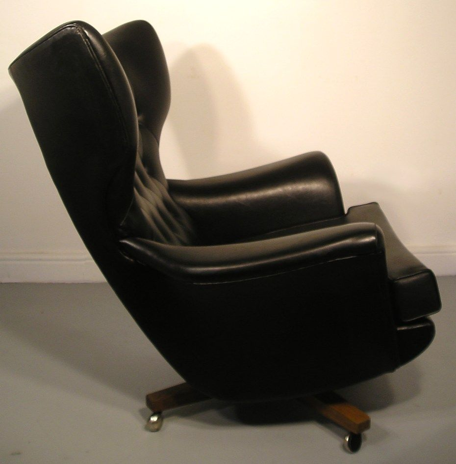 Cool Mid Century G Plan Worlds Most Comfortable Chair With Black