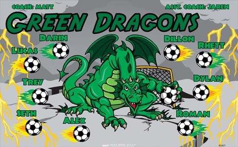 Green Dragons Banners Store Banners