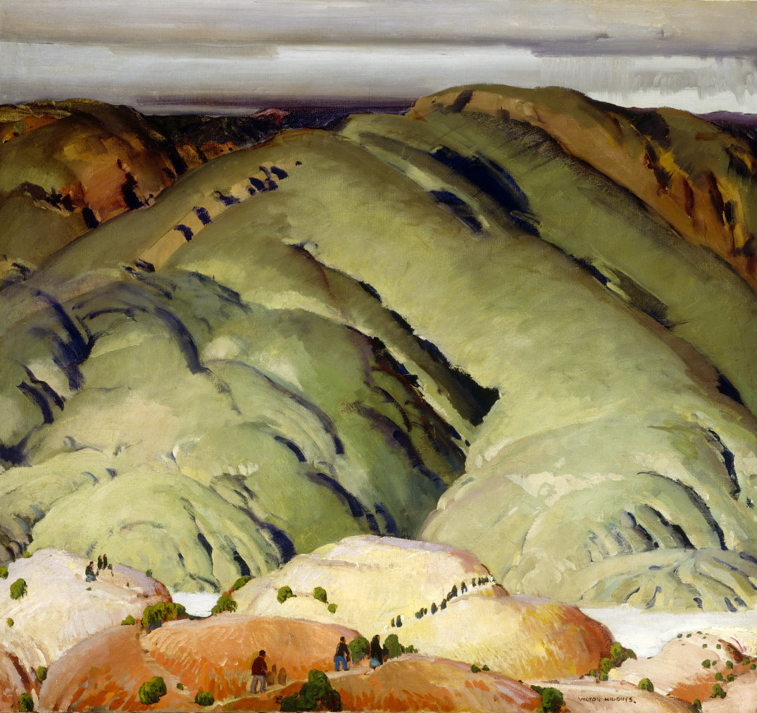 Victor Higgins /Mountain Forms #2. Dimensions:w1092.2 x h1028.7 mm ...