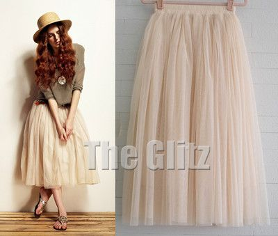 Beautiful tulle skirt