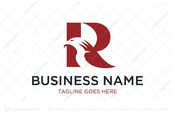 Exclusive Logo 52365 Letter R Eagle Logo Lettering Letter Logo