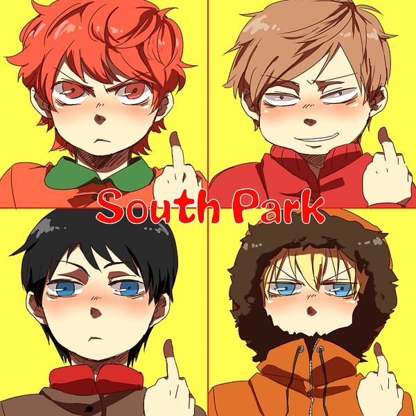 south park anime team stan southpark anime pictures