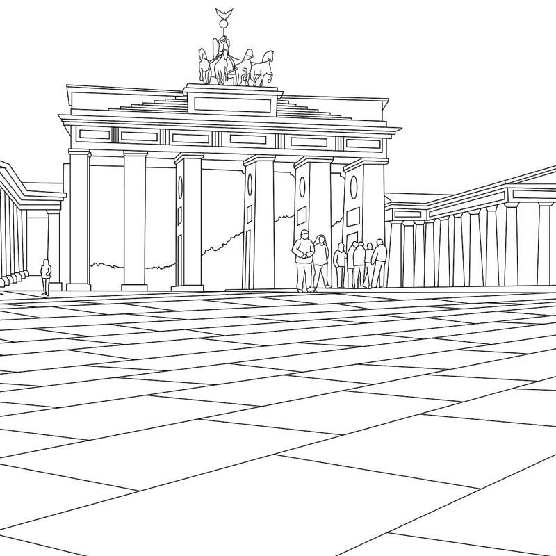 1640 malvorlagen berliner fernsehturm   Coloring and ...