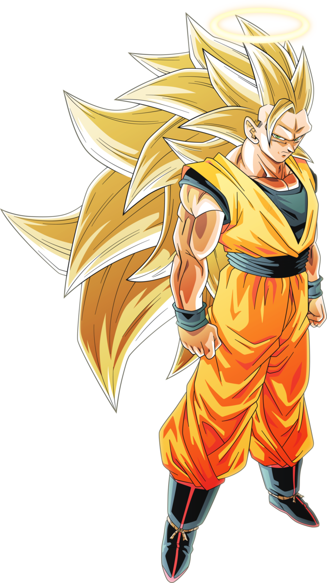 Super saiyan 3 goku 1 alt 3 by aubreiprince dessin - Dessin manga dragon ball z ...