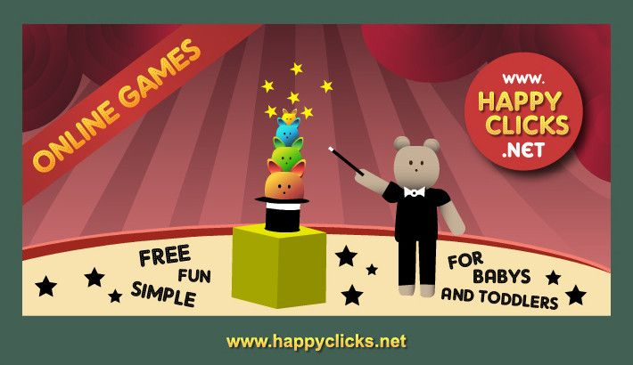 I love Boris The Magician! A magic game for Toddlers and Babies.