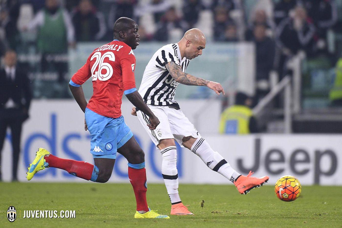 Juventus 1 - Napoli 0 Il gol di Zaza