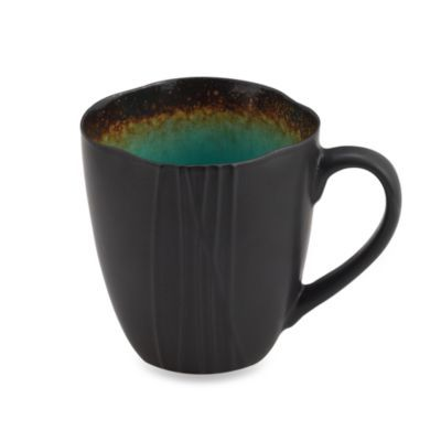 Baum Galaxy Large 21-Ounce Mug in Jade | Jade, Stoneware dinnerware ...