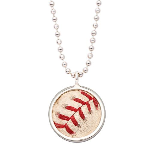 Boston red sox game used baseball pendant necklace by tokens icons boston red sox game used baseball pendant necklace by tokens icons 115 via shop aloadofball Gallery