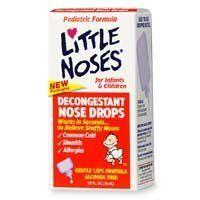 Little noses decongestant drops for infants & childrens - 1/2 oz