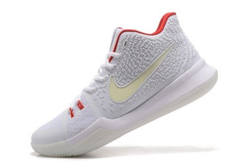 234f78547e2b Popular Nike Kyrie 3 White Red Glow in the Dark Mens Basketball Shoes For  Sale - ishoesdesign