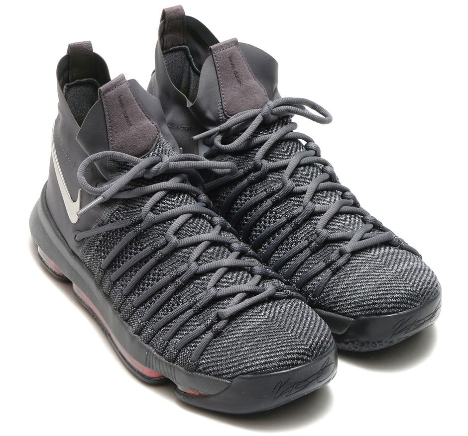 514291ff8f403 Nike KD 9 Elite Dark Grey 909140-013