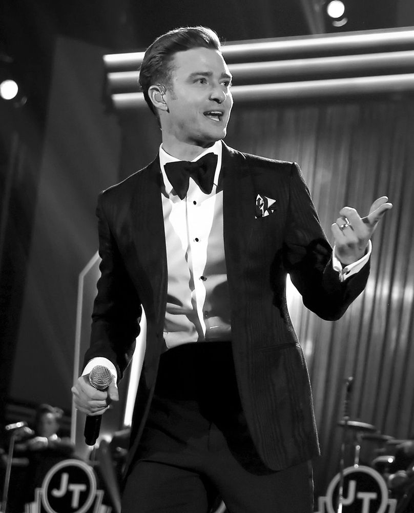 #JustinTimberlake at the 55th annual #GrammyAward ceremony 2013 -- #BowTie