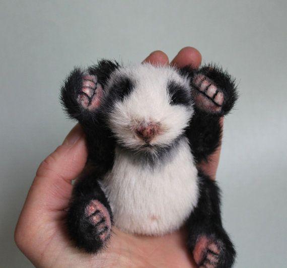 Newborn Panda Cub - Pdf sewing pattern | Things that I like ...