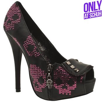 2ce792022a41 Womens Iron Fist Ruff Rider Pf Skulls High Heels | All About the ...