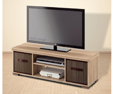 Mesa de TV 120 Talos color roble | salon | Pinterest | Mesas, Living ...