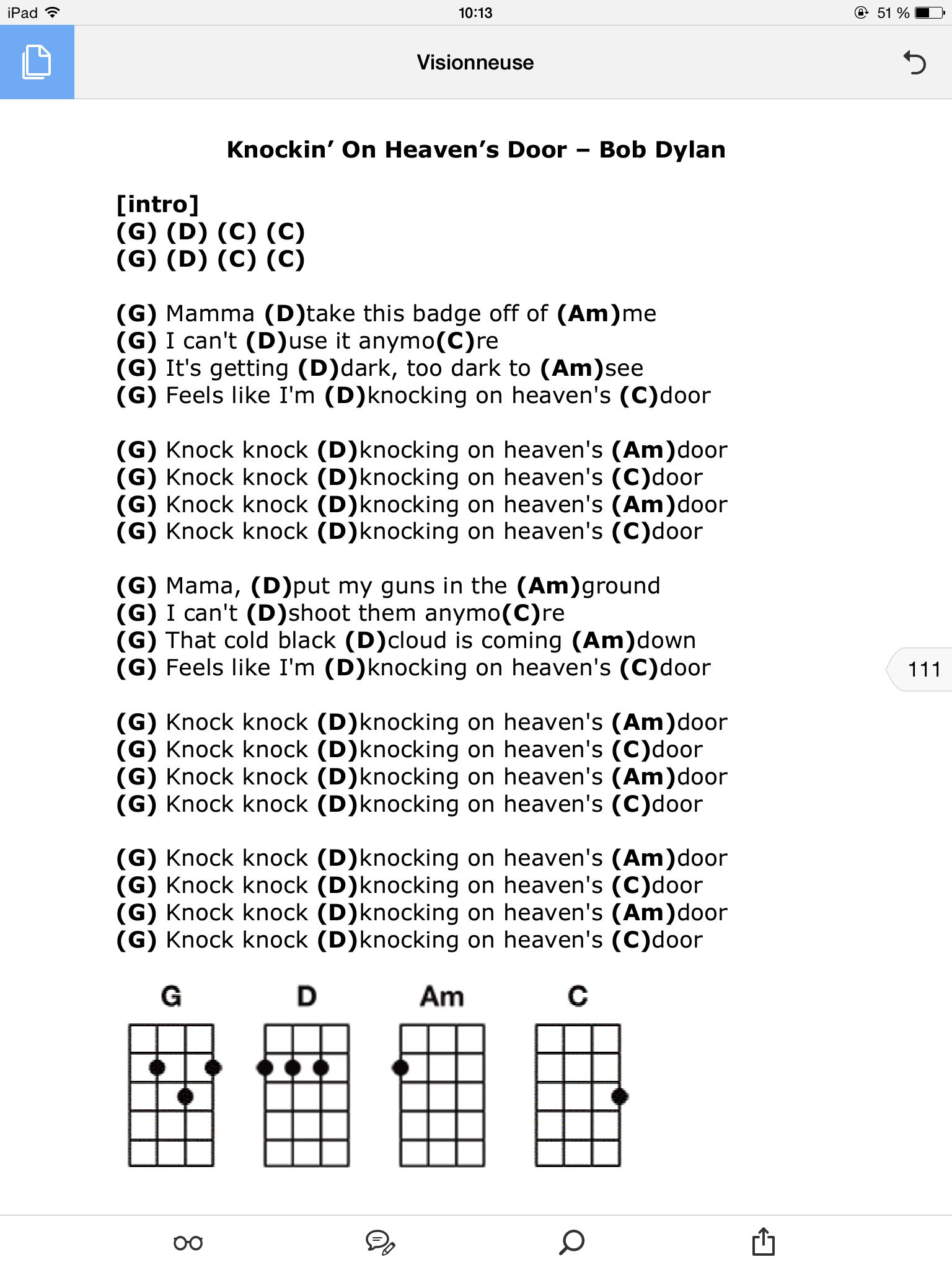 Knockin On Heavens Door Songs To Play Pinterest Guitar