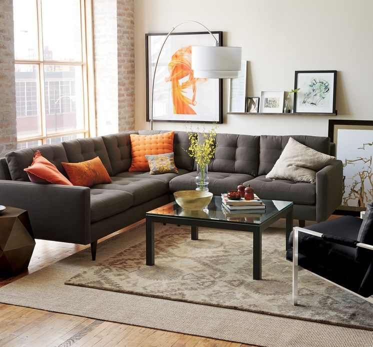 A Gray Couch Doesn T Have To Be Boring Think Of It As A Backdrop