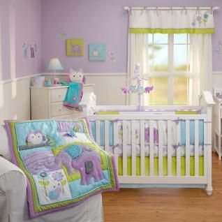 Dreamland 5 Piece Baby Crib Bedding Set With Per By Nojo