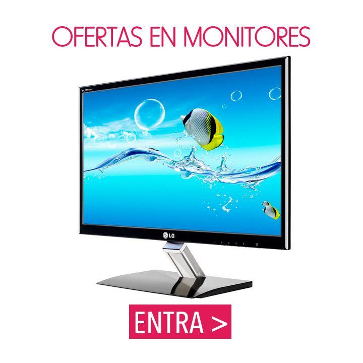 #ofertas y #descuentos en Monitores