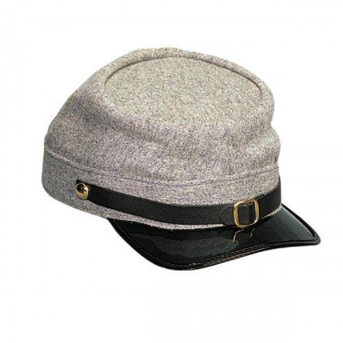 Confederate Army Civil War Kepi Cap  3fddbf3c3b85