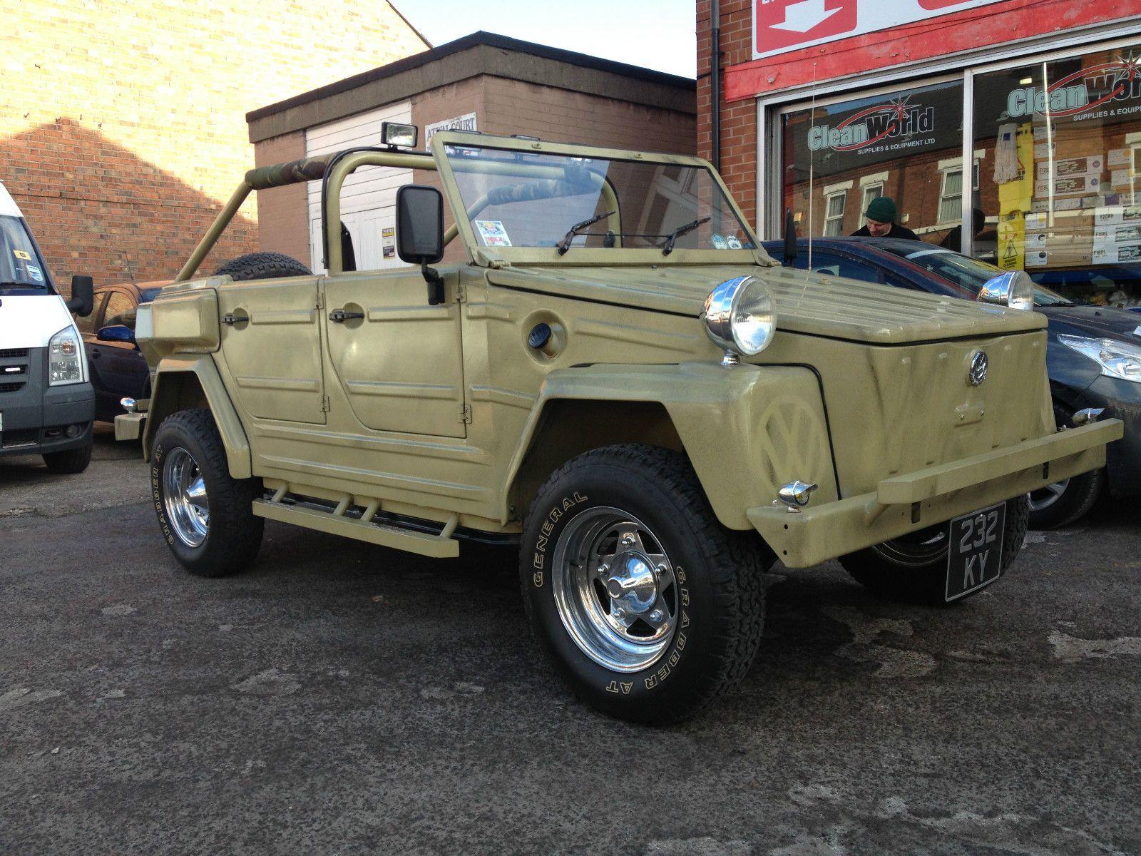 Vw trekker thing kubelwagen 182 safari rare right hand drive